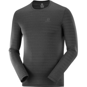 Salomon Outline LS Tee Men, black/heather